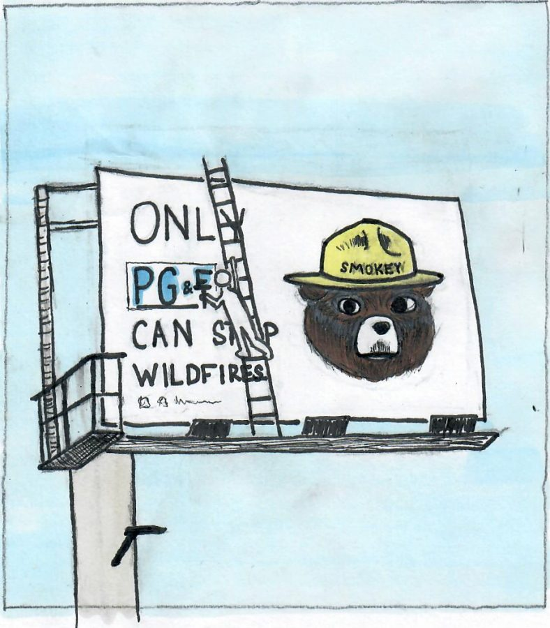 Wildfire cartoon