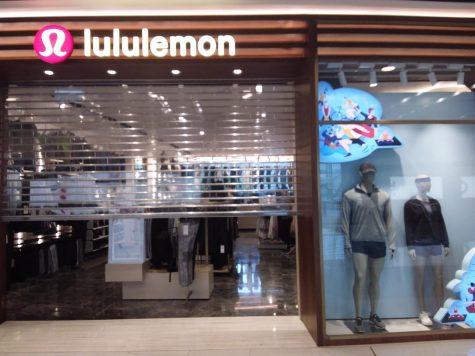 storefront, Lululemon