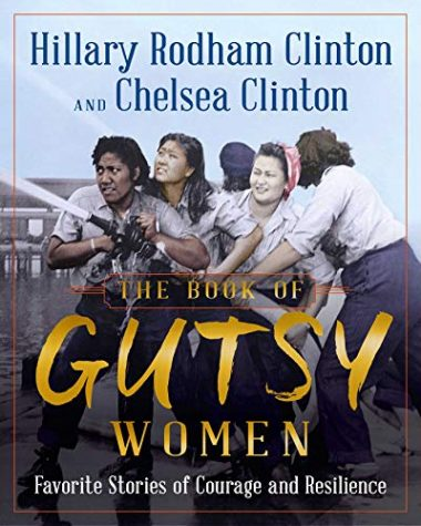 """Cover, book """"Book of Gutsy Women"""""""