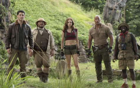 Jumanji cast in jungle