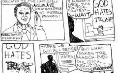 Editorial cartoon on censorship