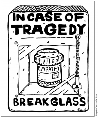 Break glass cartoon