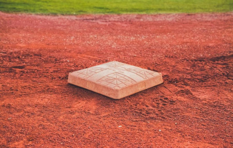 Base on baseball/softball field