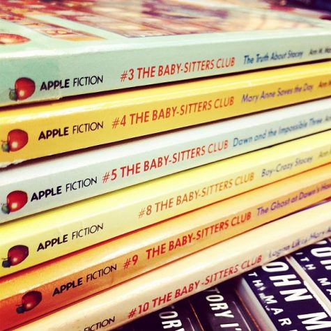 Spines for Baby Sittters Club books