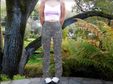 body photo of fashion pants and top