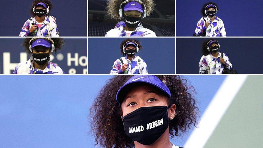 Photo collection of Naomi Osaka's masks
