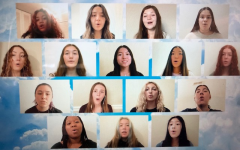 Zoom screen shot of choir