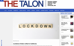 Landing page for Talon online