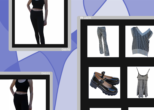 Digital dress design screen