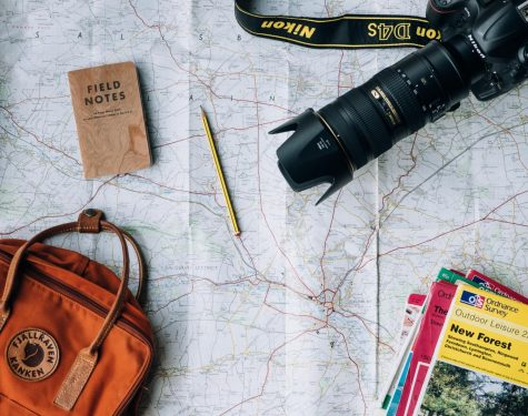 Travel planning materials