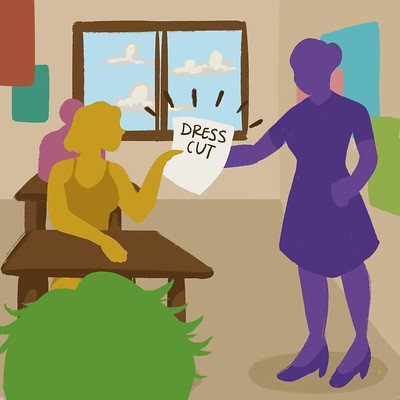 Uncovering and examining Dougherty Valley's dress code