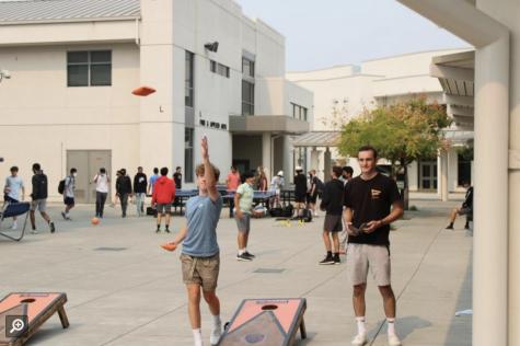 California High campus scene